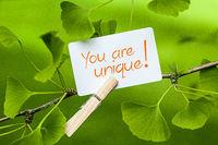 You are unique!