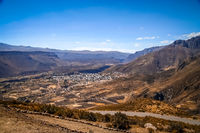 Chivas village in Canyon Colca