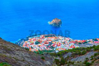 Garachico town near Atlantic Ocean
