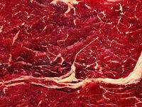 rot Fleisch Maserung Rind