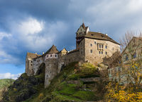 Castle Loket in Czech Republic