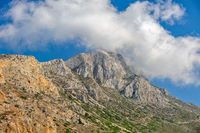 Mountain on Crete island, Greece