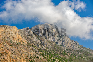 Mountain on Crete island, Greece