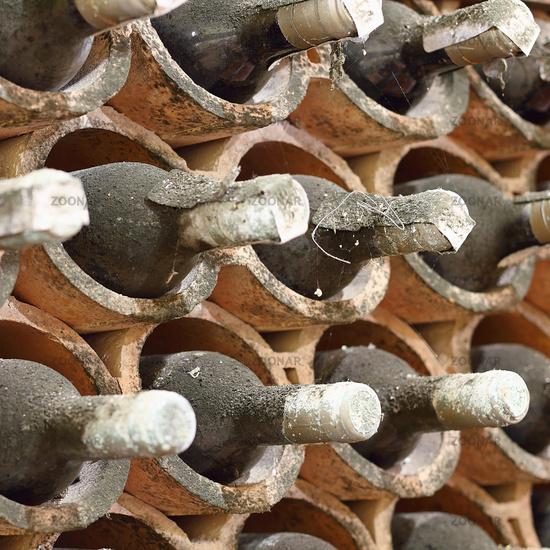Chianti Classico in einem Weinkeller in der Toskana