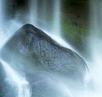 Waterfall On Rocks At Misol Ha