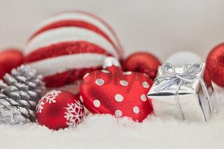 Weihnachten Hintergrund mit Herz