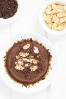 Chocolate Pudding or Flan Dessert