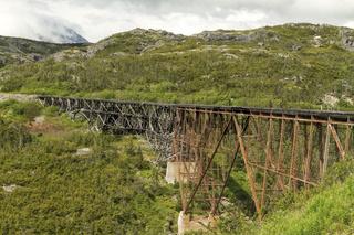 The White Pass and Yukon Route Railroad Bridge