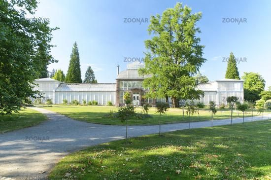 Foto Kassel Grosses Gewachshaus Im Bergpark Wilhelmshohe Bild 2102090
