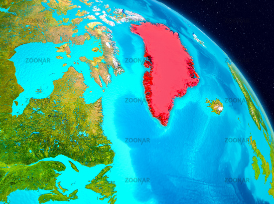 Greenland on Earth
