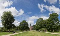 Rosenborg Castle and King's Garden in Copenhagen