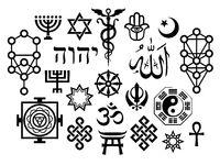 Oriental Sacral Religious Symbols