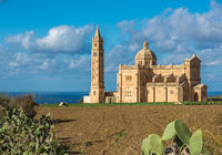 Basilica of the National Shrine of the Blessed Virgin of Ta Pinu, Gozo, Malta