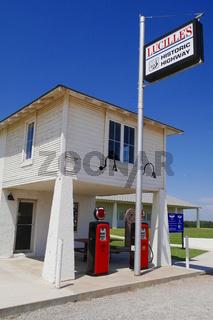 Historische Tankstelle,Hydro,Oklahoma,Route 66