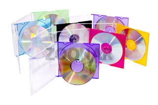CD in the disclosed colored boxes