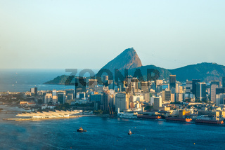 Rio de Janeiro, Sugarloaf Mountain, Brazil