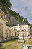 Pferdeschwemme in Salzburg