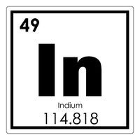 Indium chemical element
