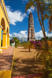 Old slavery tower in Manaca Iznaga near Trinidad, Cuba