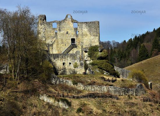 Lautertal, Ruine Bichishausen