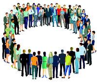 Gruppe bilden Kreis.eps