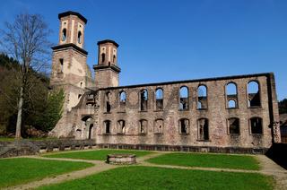 Kloster Frauenalb - Klosterruine Deutschland