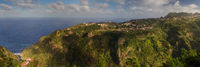 Panorama of the north coast of Madeira
