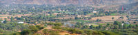 Panoramic View of Pushkar Valley in India, from an Elevated Perspective