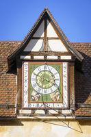 old clock at Bebenhausen Germany