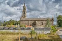 Kapelle von Barro, Pontevedra, Galizien, Spanien