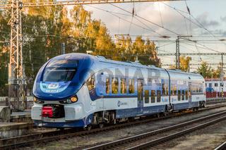 Moderner Regionalverkehr in Tschechien