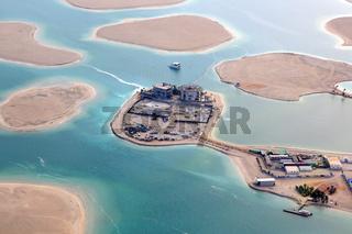 Dubai The World Welt Insel Inseln Deutschland Österreich Schweiz Luftaufnahme Luftbild