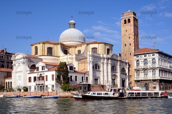 Die Kirche San Geremia, Venedig