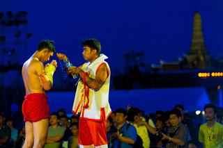 Muay Thai Kickboxing Preparation Water Bangkok