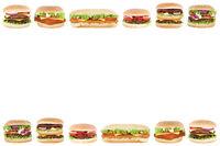 Hamburger Cheeseburger Burger Textfreiraum Copyspace Tomaten Salat Freisteller freigestellt
