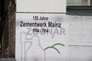 Heidelberg Zementwerk Mainz