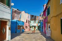 Pastel Buildings of Burano Island