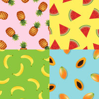 Tropical Background Set