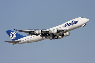 Polar Air Cargo - Boeing 747 - N452PA beim Takeoff