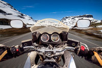 Biker First-person view