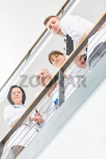 Mediziner als Ärzteteam im Krankenhaus
