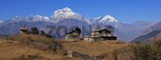 Seventh highest mountain of the world, Dhaulagiri