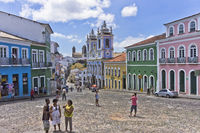 Pelourinho, Salvador de Bahia, Brazil, South America