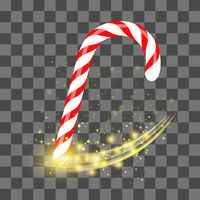 Sweet Striped Candy Cane