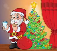 Santa Claus breakfast theme 5