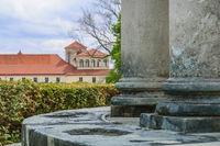 Schloss Esterhazy mit Tempel in Eisenstadt