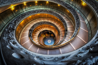 Vatican Museum Stairs