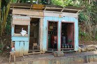 Lokale Tankstelle, Santana, Sao Tome, Afrika