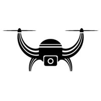 Air Drone Icon Isolated