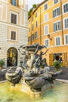schildkrötenbrunnen, piazza mattei